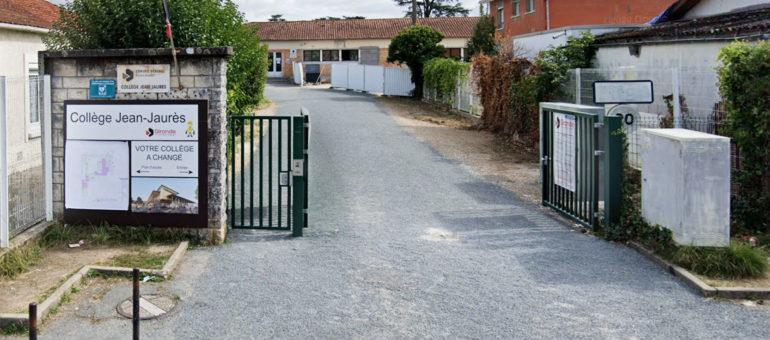 La rénovation du collège Jean-Jaurès à Cenon «bien mal pensée» selon les enseignants