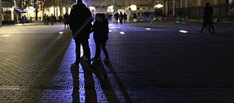 Mapping de Noël en panne pour son premier soir à Bordeaux