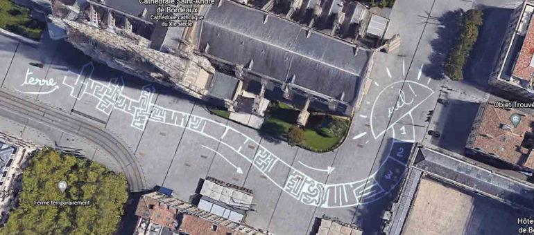 Au lieu du sapin, ce sera un mapping pour Noël place Pey-Berland à Bordeaux