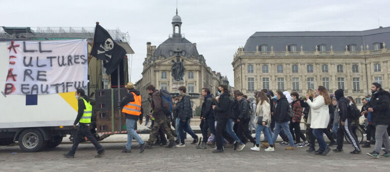 Contre la loi Sécurité globale, 4000 manifestants et teufeurs bordelais
