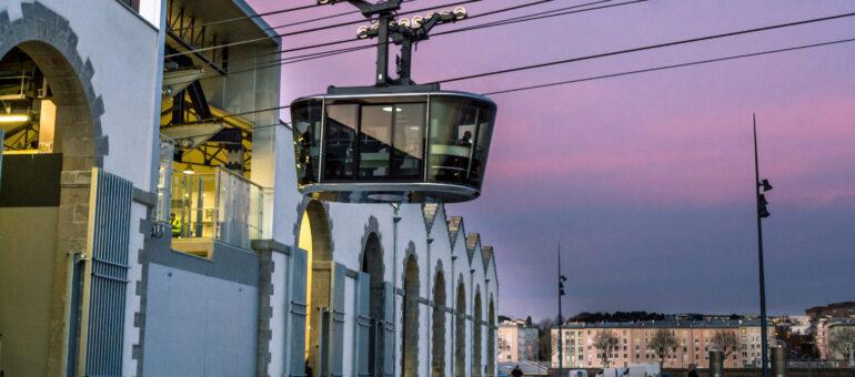 Le téléphérique tient la corde pour franchir la Garonne