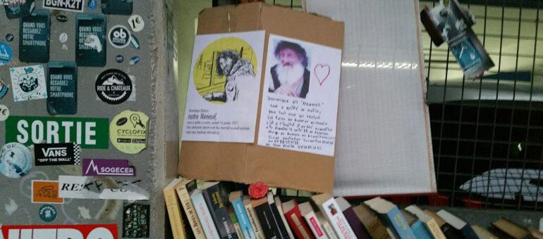 Neneuil, le «libraire libre» du Palais des Sports, a refermé le livre de sa vie