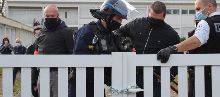 L'ouverture d'un squat à Mérignac empêchée par la police