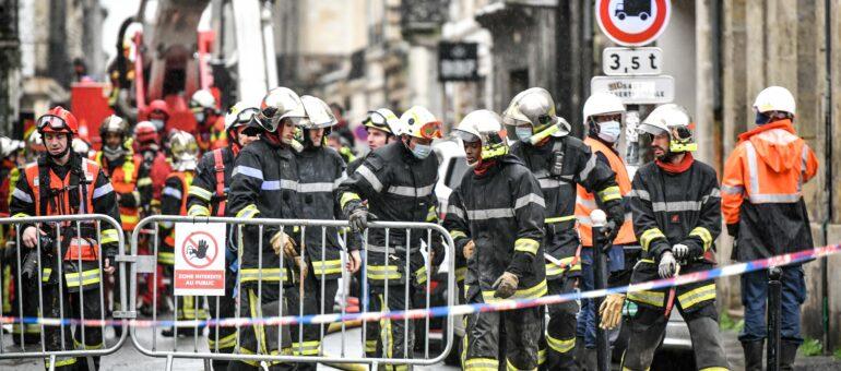 L'explosion d'un bâtiment fait un mort à Bordeaux