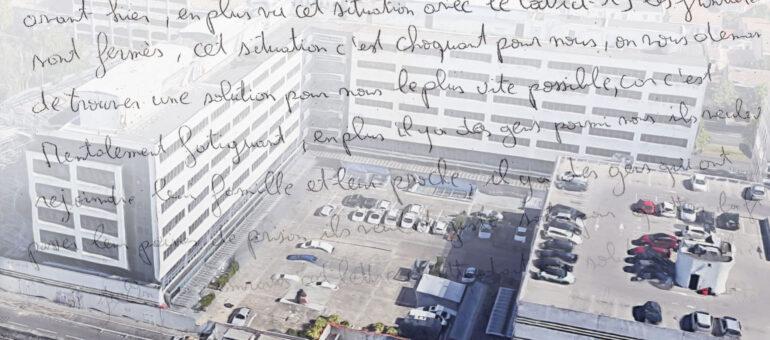 Enfermées au centre de rétention administrative de Bordeaux, neuf personnes en grève de la faim