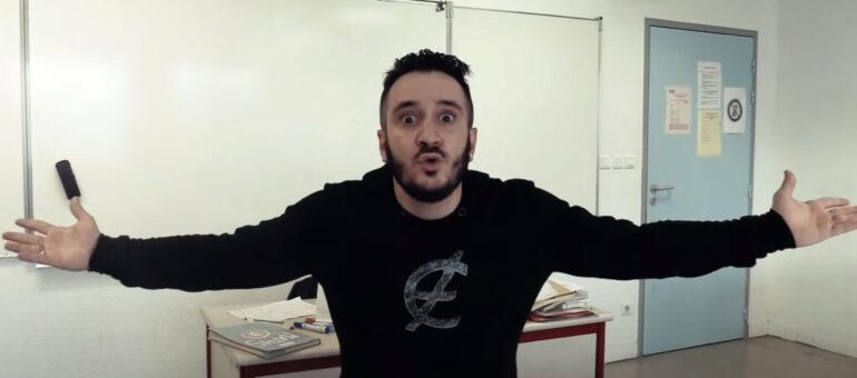 Le prof de maths rappe le ras-le-bol de la crise au collège de Blanquefort