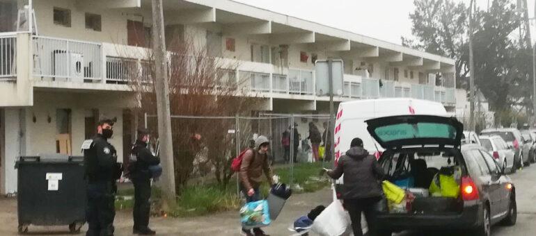 Le squat de la Zone libre évacué, 300 personnes expulsées et dispersées