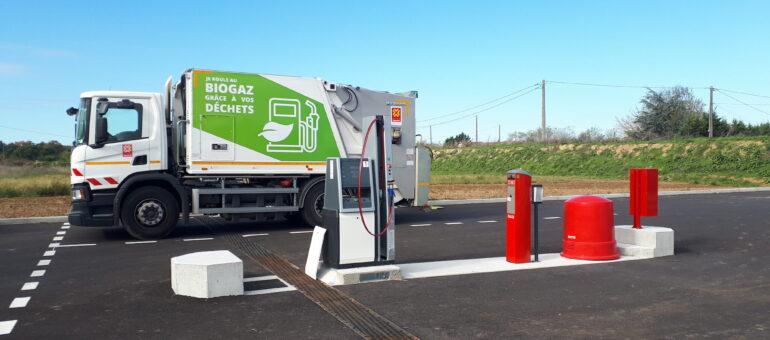 Le biogaz pour rouler propre en Nouvelle-Aquitaine