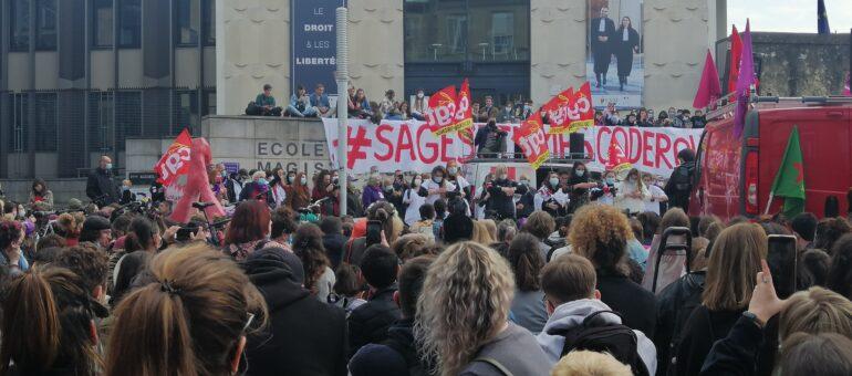Plus de mille personnes dans les rues de Bordeaux pour la journée des droits des femmes