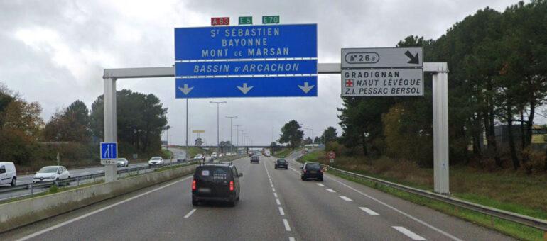 Autoroute Bordeaux-Arcachon : la Métropole contre un péage et une mise à 2X3 voies