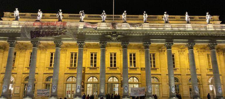 Le Grand-Théâtre de Bordeaux évacué, quid de la poursuite de la lutte ?