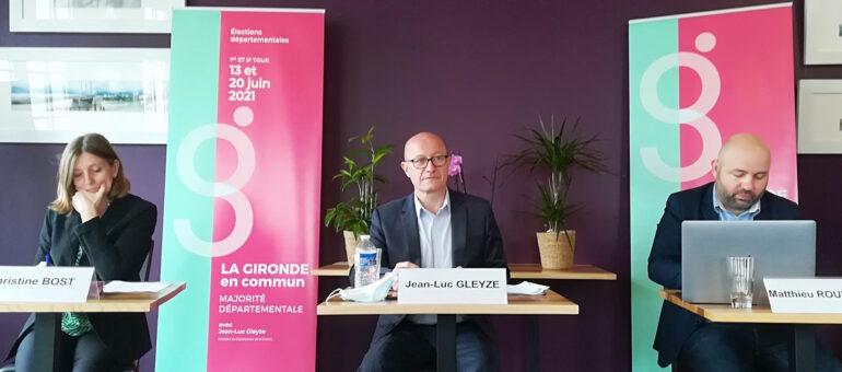 Départementales 2021 : Jean-Luc Gleyze lancé dans une campagne pas décantée