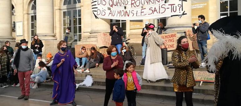 Marathon artistique ce dimanche à Bordeaux, mais pas d'occupation de théâtre en vue