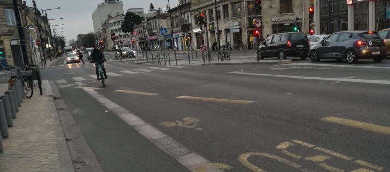 Les aménagements bus et vélos taillent la route sur les Boulevards