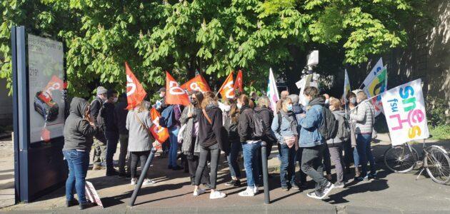 Rassemblement des AESH à Bordeaux : «On pallie les manques de l'Education nationale»