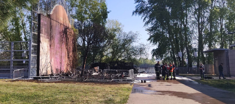 Un incendie criminel ravage les cabanes des sans-abri quai Sainte-Croix