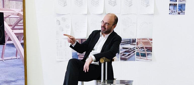Arc en rêve : Fabrizio Gallanti, le nouveau directeur «gourmand et ouvert» aux collaborations