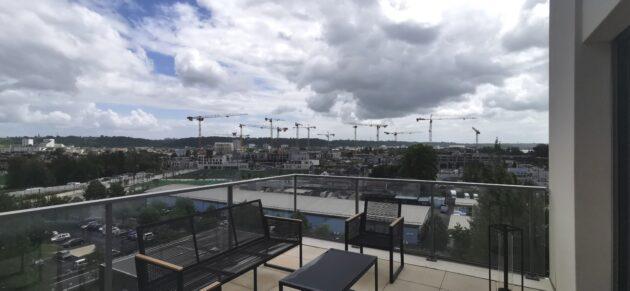 Un appartement du groupe Fayat, offrant une vue sur le quartier Bordeaux Belvédère (KS/Rue89 Bordeaux)