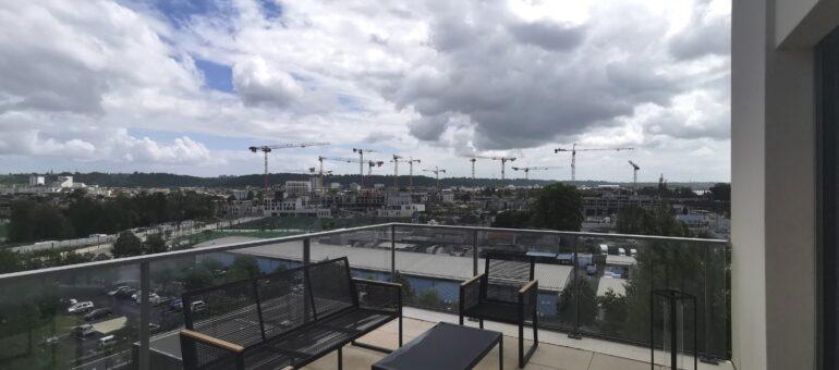 Sur la rive droite, le futur quartier Bordeaux Belvédère s'élève vitesse grand V