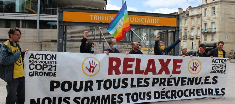 Bordeaux : relaxe pour un décrocheur de portrait de Macron