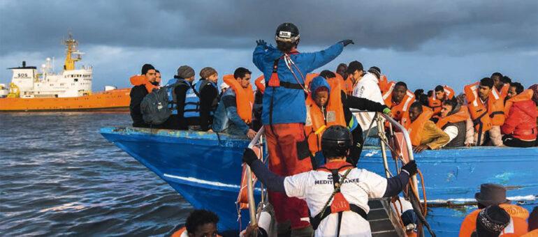 Bordeaux, Bègles et Floirac solidaires de SOS Méditerranée