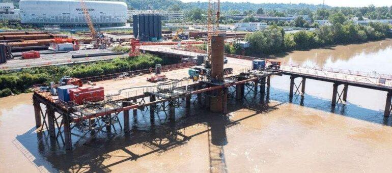 Un nouvelle étape franchie pour le Pont Simone-Veil