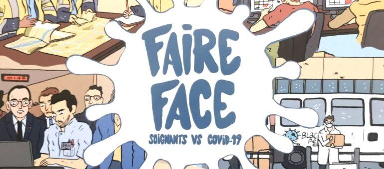 «Faire Face» : une BD raconte la première vague de la Covid-19 vue par les soignants bordelais