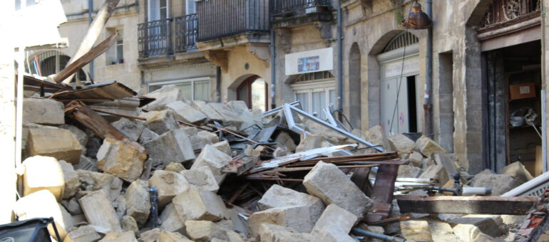 Une expertise révèle «un très fort risque d'écroulement» pour d'autres immeubles à Bordeaux