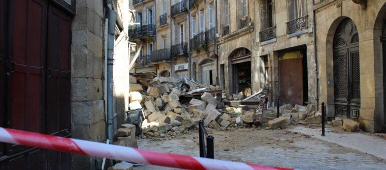 Après l'effondrement de deux immeubles à Bordeaux, la crainte d'un effet domino
