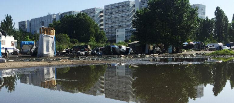 L'incendie du bidonville de Cracovie dû à une «étincelle» dans les tensions avec les Aubiers ?