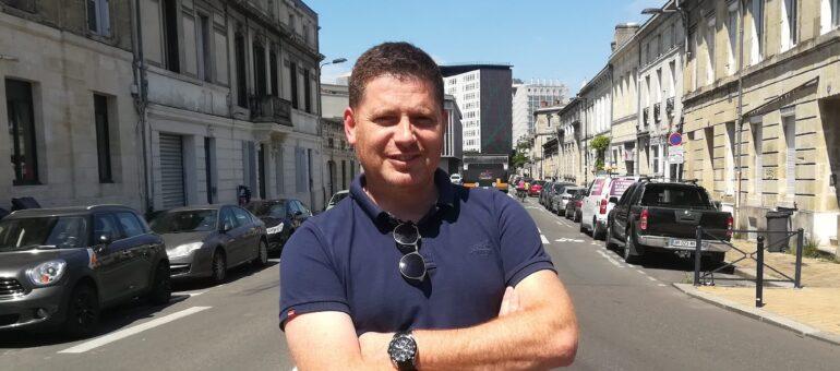 Cyril Cros, flic bordelais soucieux des bleus à l'âme des policiers