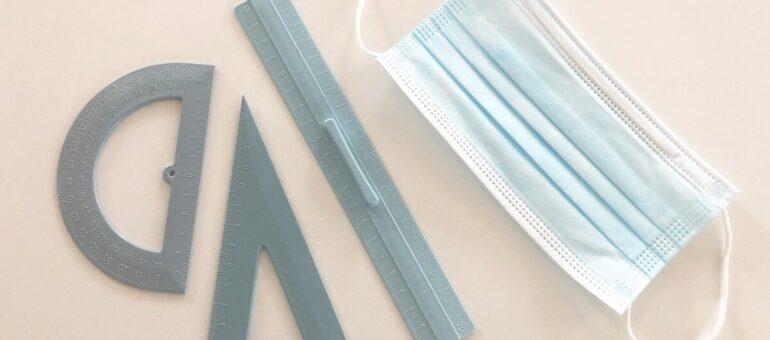 70000 masques sanitaires jetables recyclés en 1300 kits écoliers à Talence