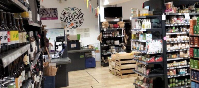 Supercoop, le seul supermarché de Bordeaux où le chaland tient la caisse