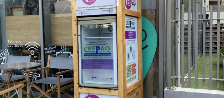 Les frigo zéro gaspi, chaîne du froid solidaire à Bordeaux Métropole