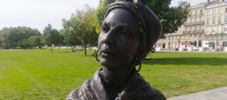 La statue de l'esclave Modeste Testas ciblée par un acte de vandalisme raciste ?