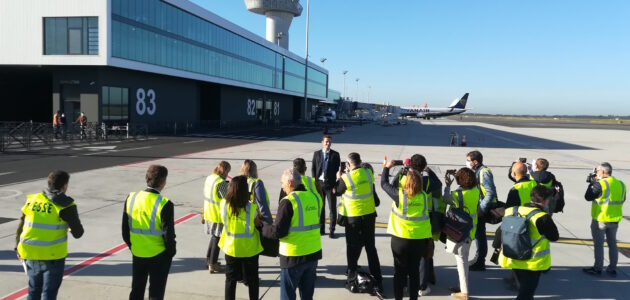 En zone de turbulence, l'aéroport de Bordeaux Mérignac se dote d'une vitrine verte